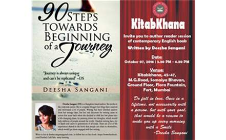 Book Reading Session by Deesha Sangani - 90 Steps towards beginning of a journey.